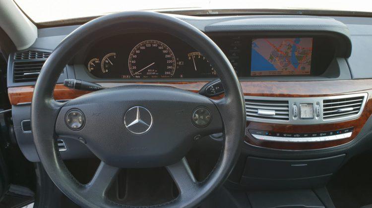 s klasse cockpit