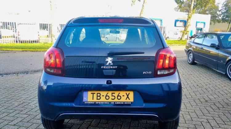 VERKOCHT Peugeot 108 1.0 e-VTi Active 2018