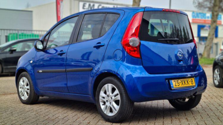 VERKOCHT Opel Agila 1.0 Edition 2012